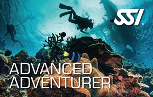 SSI Advanced Adventure Diver certifikat AOWD
