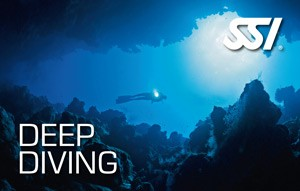 SSI Deep Diving Specialty dykker kursus PADI Deep Diver