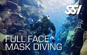 Full Face Mask Diving Specialty dykkerkursus Ocean Reef Neptun