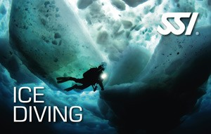 Is dykning Ice Diving dykkerkursus SSI Specialty PADI
