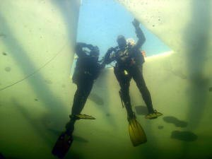 SSI Ice Diving Is dykning Specialty PADI