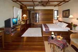 Mabul Water Bungalow Borneo Sabah Malaysia dykning dykkerferie dykkerrejse