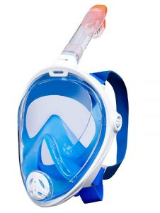 Aquatics - Full Face snorkel maske